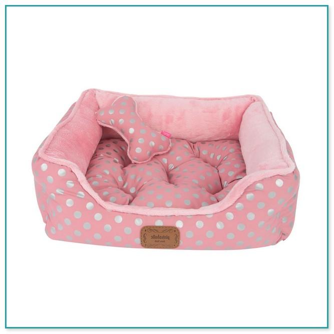 Engaging Pink Medium Size Dog Bed