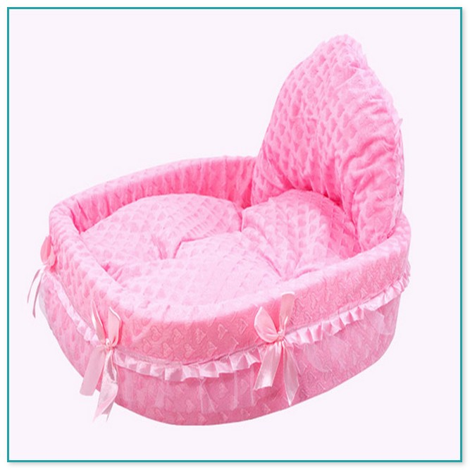 Fascinating Pink Medium Size Dog Bed