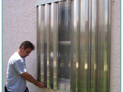 Install Storm Panel Hurricane Shutters