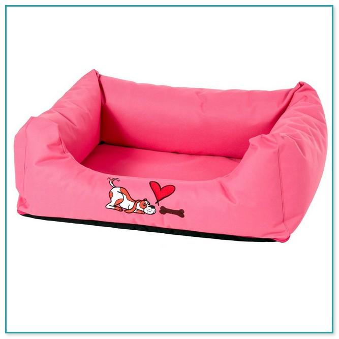 Magnificent Pink Medium Size Dog Bed