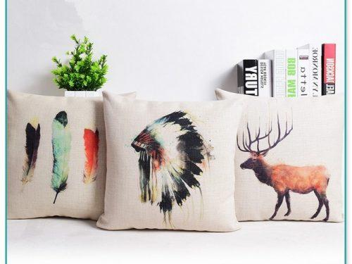 Native American Print Throw Pillows