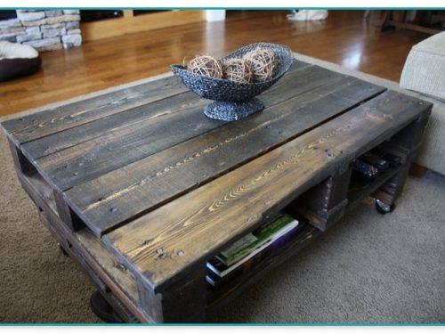 Reclaimed Wood Coffee Table Calgary