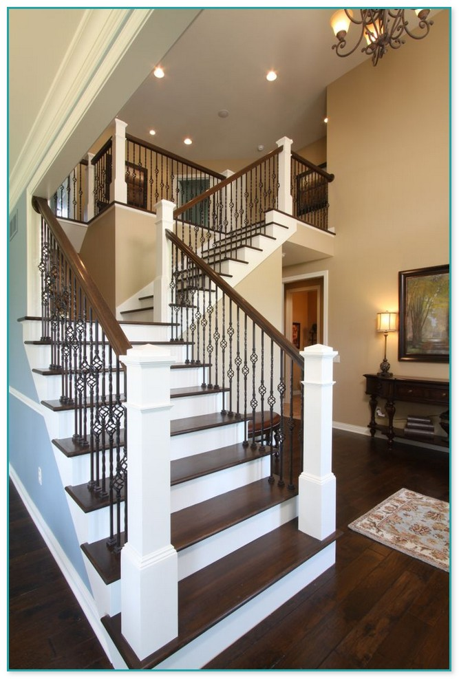 Staircase Wrought Iron Balusters