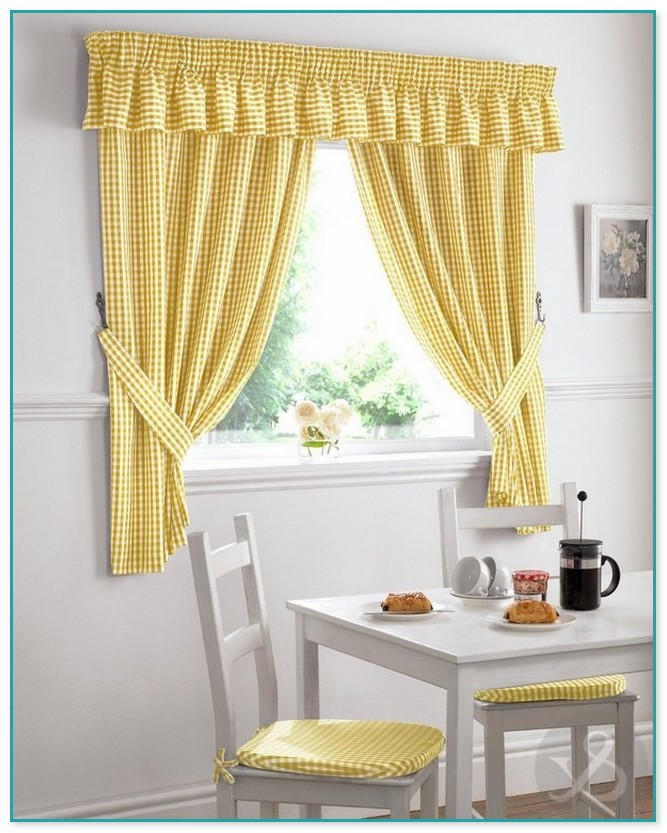 Swag Curtains For Kitchen Windows