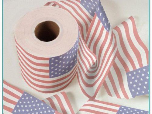 Usa Flag Toilet Paper