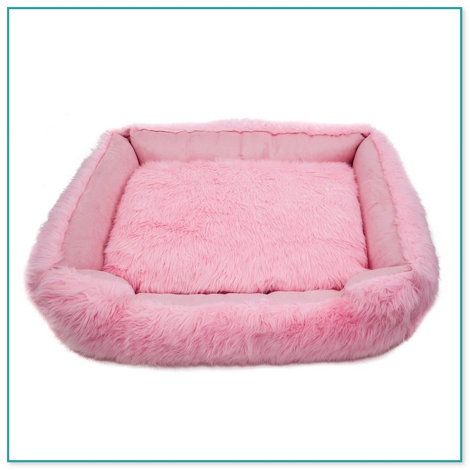 Zingy Pink Medium Size Dog Bed