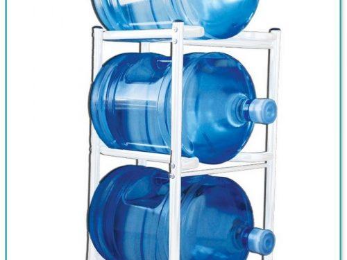 3 Tier 5 Gallon Water Bottle Rack