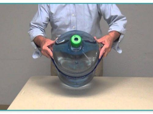 5 Gallon Glass Water Bottle Holder