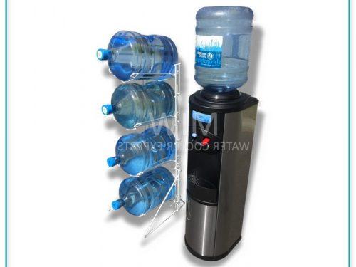 5 Gallon Water Bottle Plastic Rack