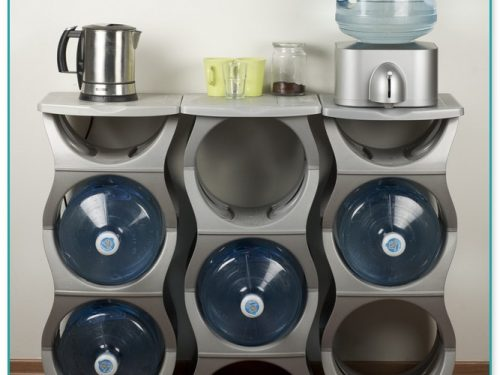 5 Gallon Water Bottle Storage Rack Stand