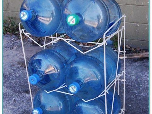 Diy 5 Gallon Water Jug Rack