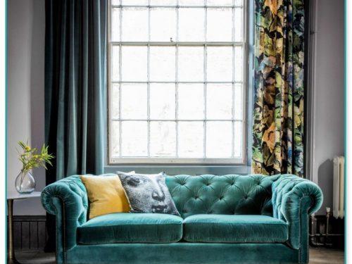 Emerald Green Velvet Sofas