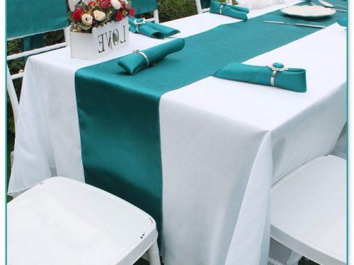 Gorgeous Tiffany Blue Table Runner Wedding
