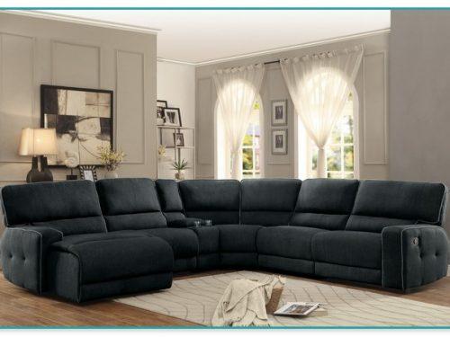 Luxurious Reclining Sectional Sofa Furniture