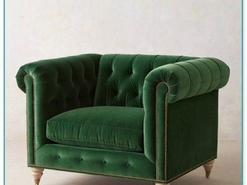 Luxury Naples Sofa In Emerald Green Velvet