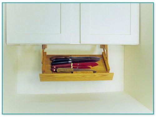 Ultimate Kitchen Storage Under Cabinet Knife Rack