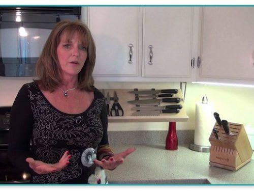 Under Cabinet Kitchen Knife Storage