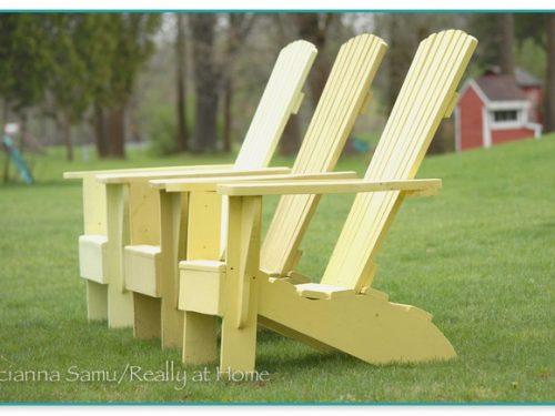 Adirondack Chairs By Greg
