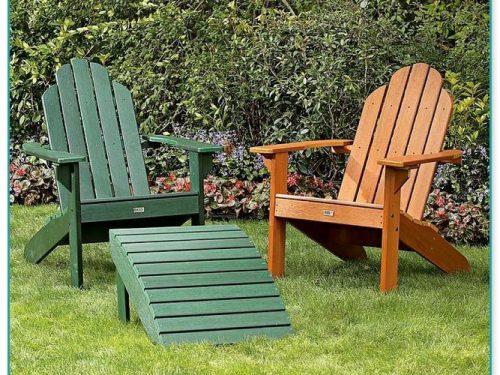 Green Resin Adirondack Chairs