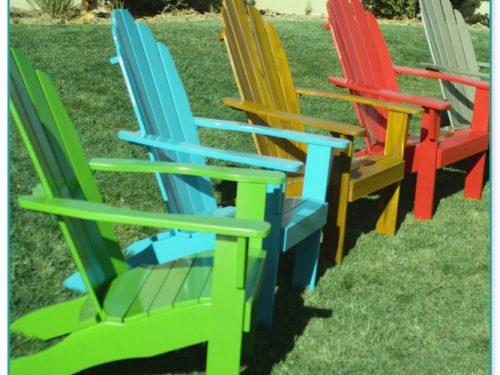 Heavy Duty Resin Adirondack Chairs
