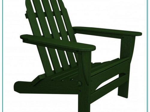 Poly Wood Adirondack Chairs