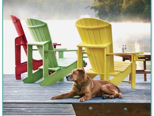 Recycled Milk Jug Adirondack Chairs