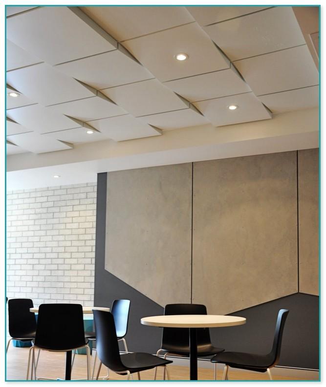 Painting drop ceiling tiles