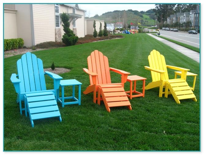 Stunning Hard Plastic Adirondack Chairs