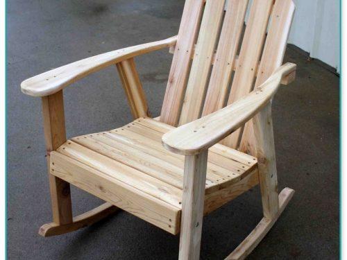 Western Red Cedar Adirondack Chairs