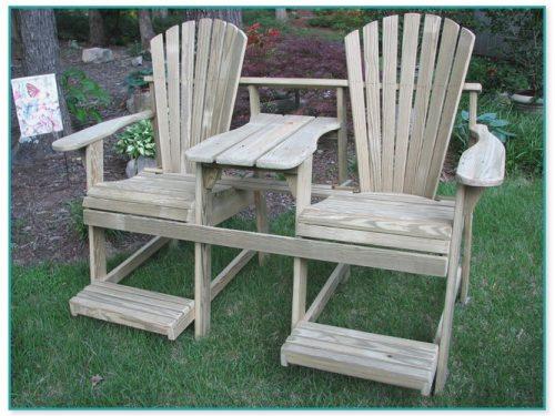 Whiskey Barrel Adirondack Chair Plans