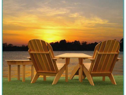 Yellow Adirondack Chair Plastic