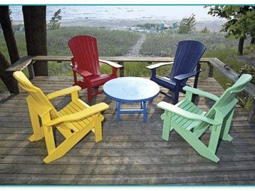 Yellow Adirondack Chairs Plastic